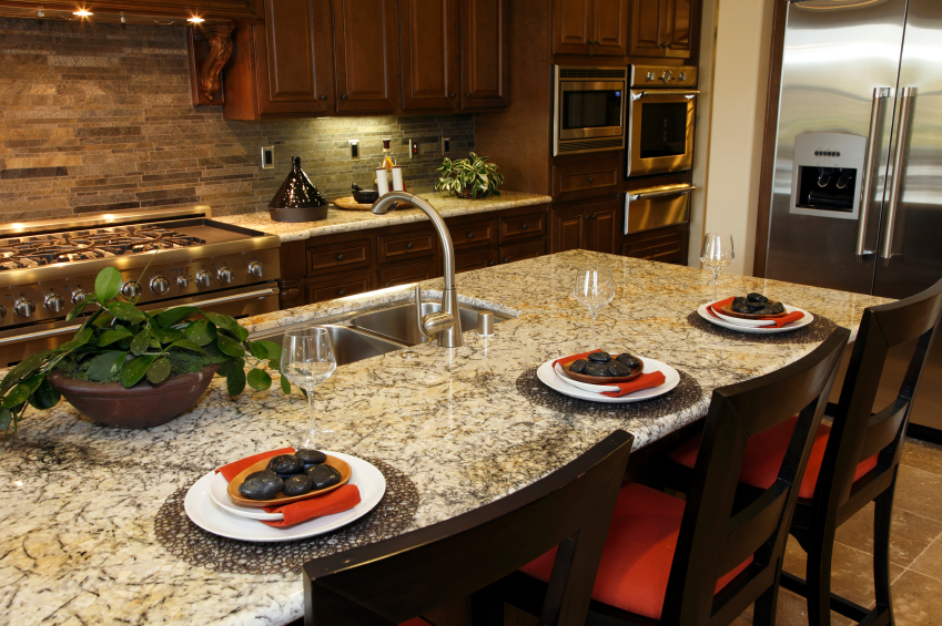 Elegant Kitchen Countertop