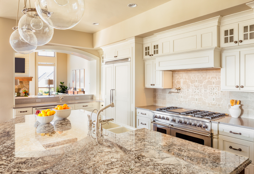 Granite top cleaning and maintenance