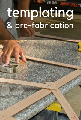 templating, pre-fabrication, templating countertop, pre-fabricating countertop, countertop in Kent & Seattle