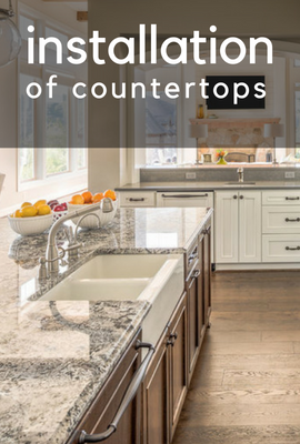 granite countertop installation, quartz countertop installation in Seattle & Kent WA