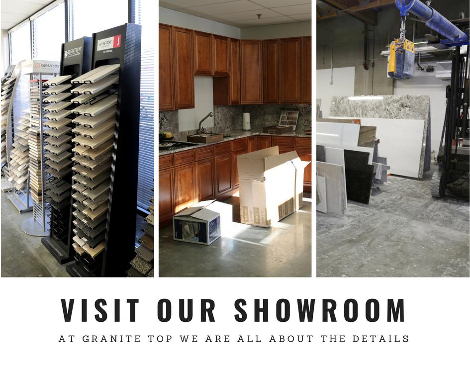 Granite top showroom | Kitchen countertops Kent Seattle