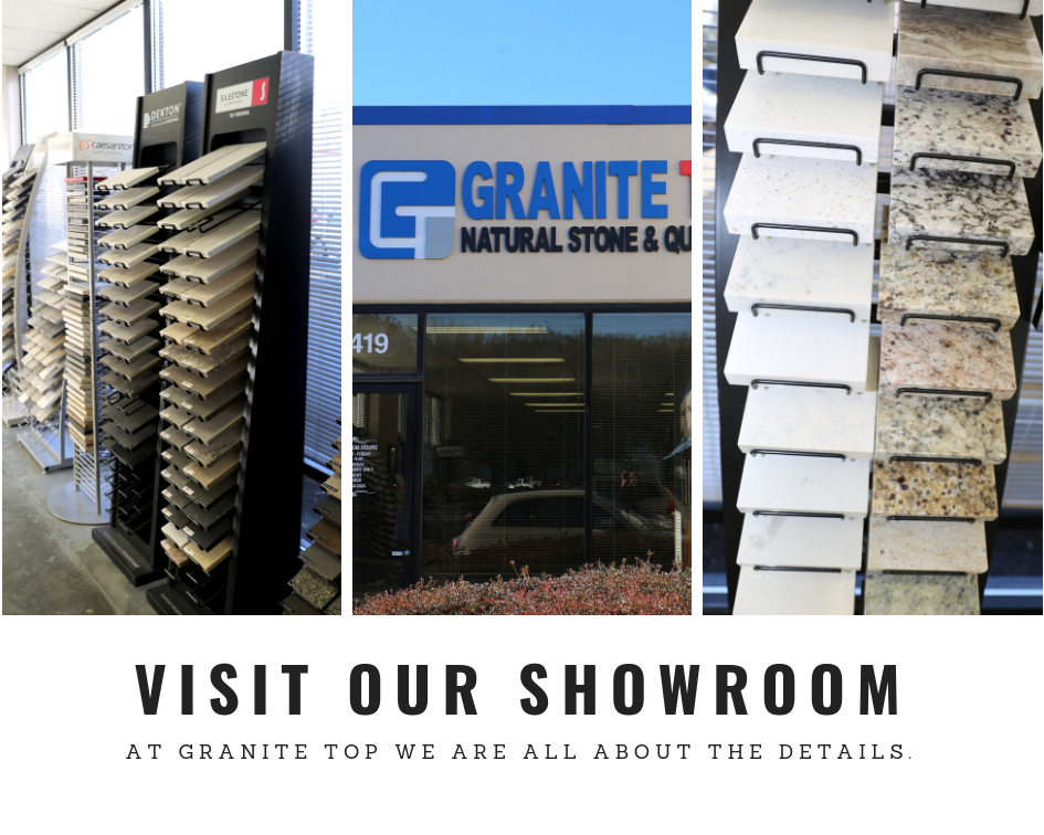Granite top showroom | Kitchen countertops Kent Seattle