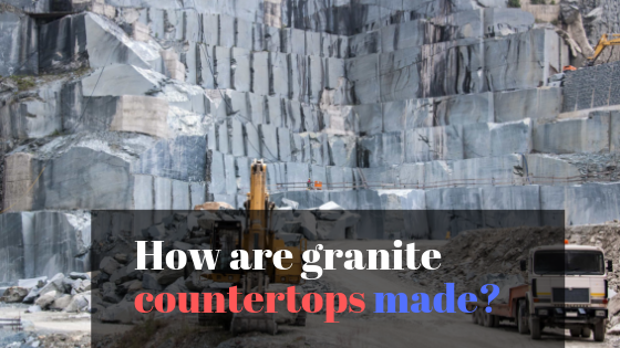 How are granite tops made