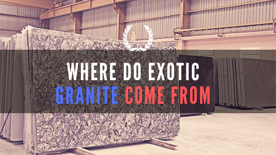 where do granite slabs come from