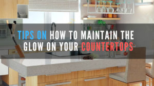 The main factor to keeping your kitchen countertops glowing and clean at all times is properly cleaning them daily.
